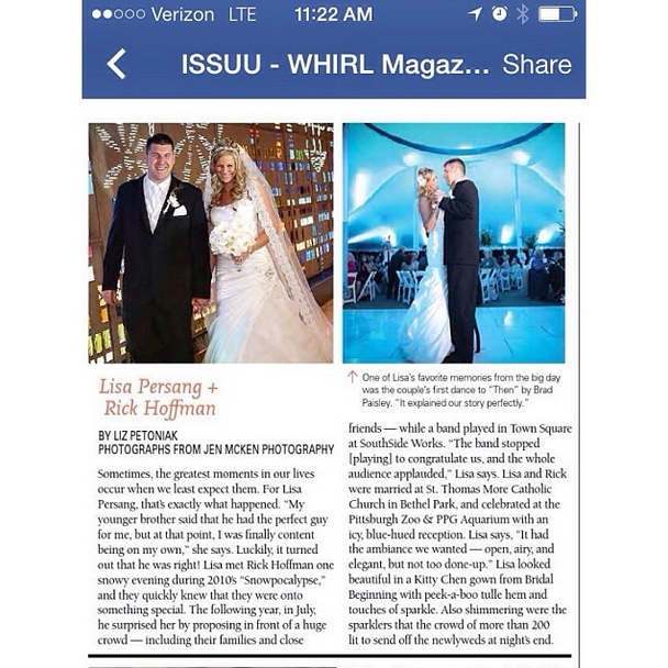 WHIRL MAGAZINE feature