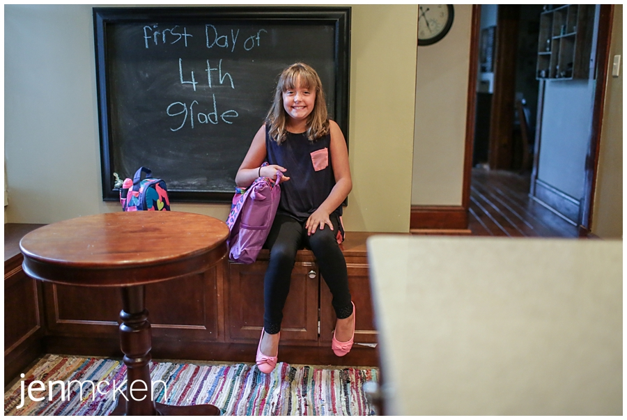 1st day of 4th grade-40