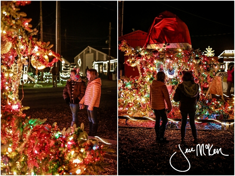 overly's country christmas village | Jen McKen Photography