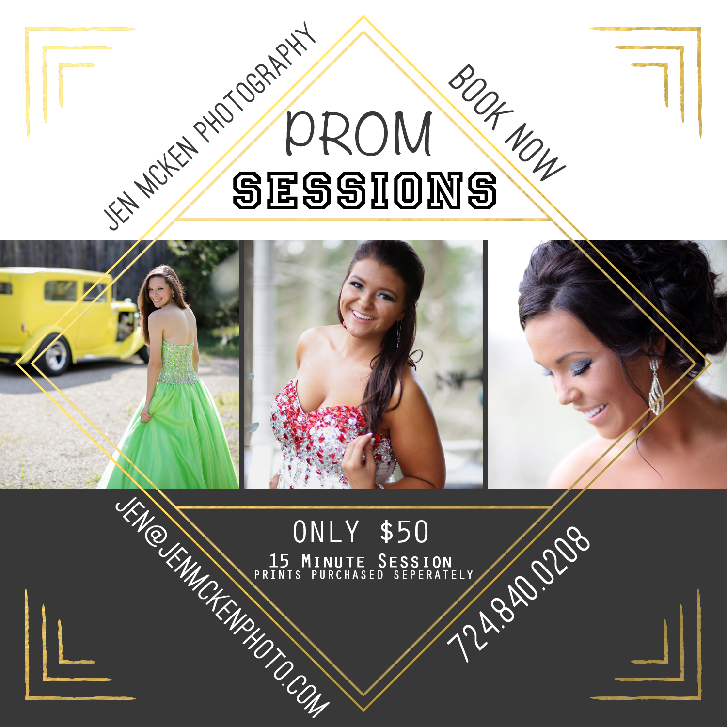 Prom Minis 2015 indiana county pa photographers