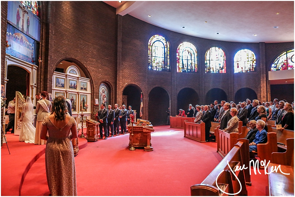 Serbian Orthodox Wedding Ceremony-Monroeville PA Wedding