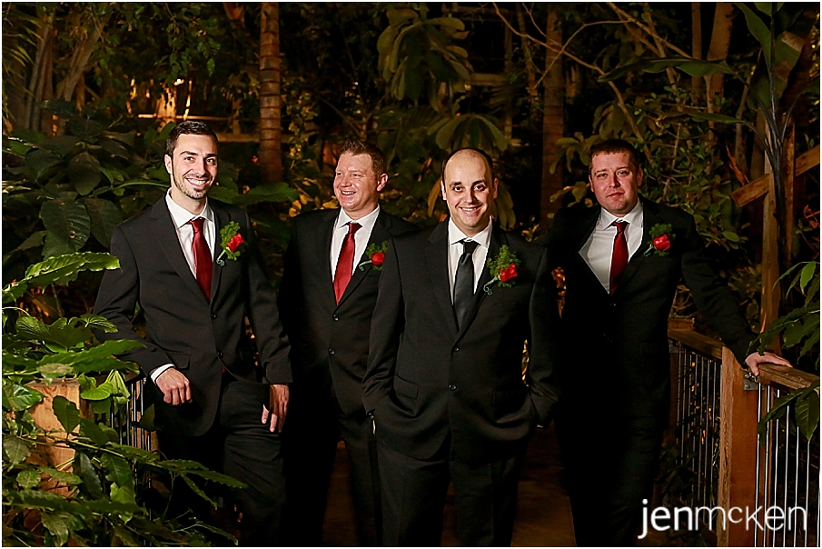 phipps conservatory pittsburgh pa wedding in december