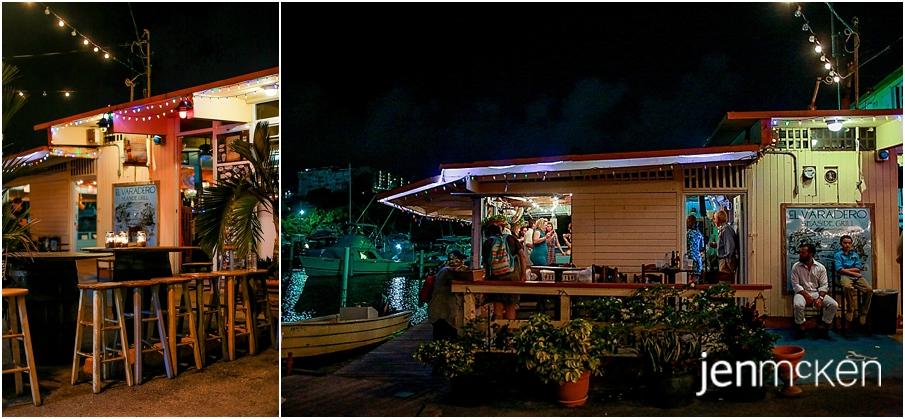 puerto rico destination wedding photographer el varadero restaraunt