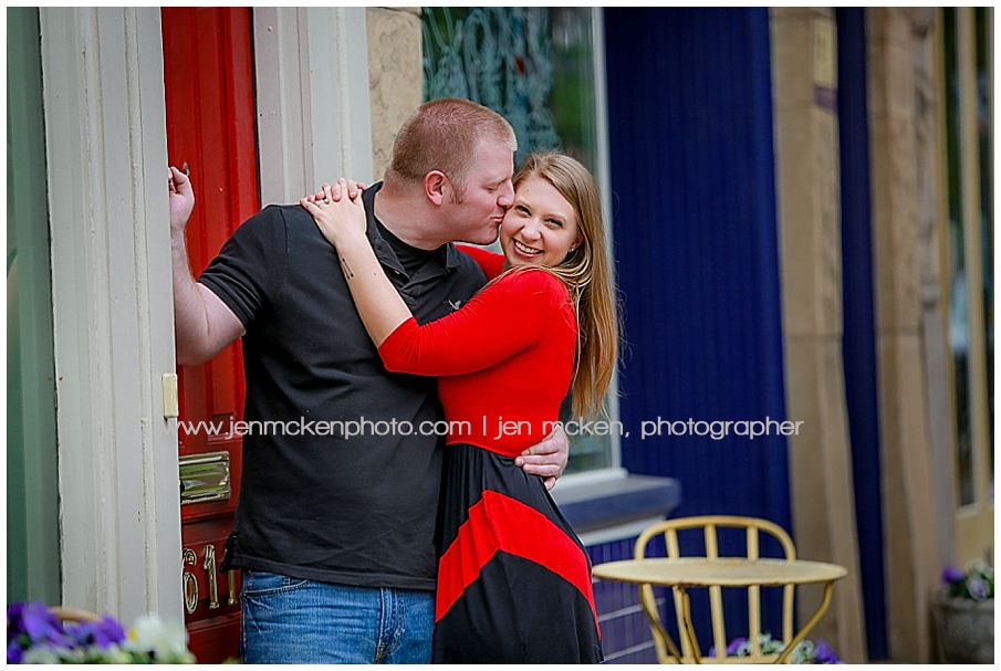 lawrenceville pittsburgh engagement photos