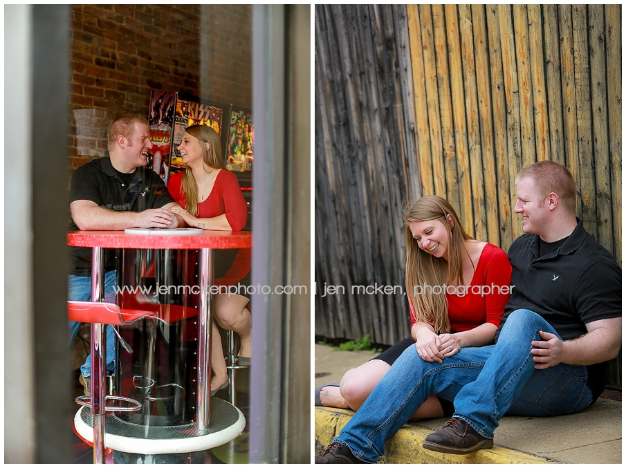 lawrenceville pittsburgh engagement session