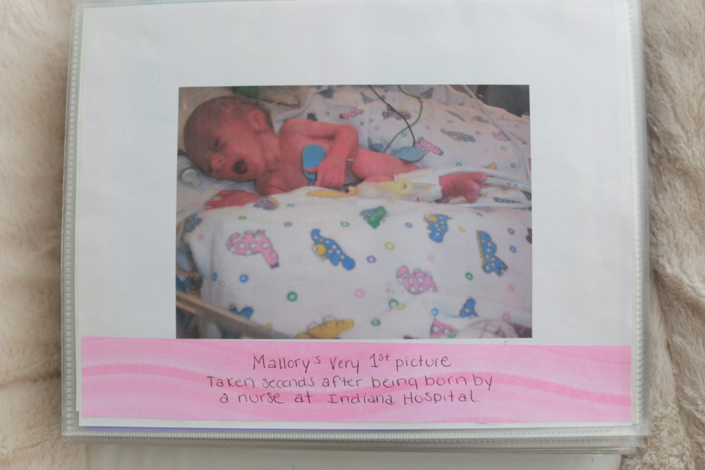 first picture of mallory