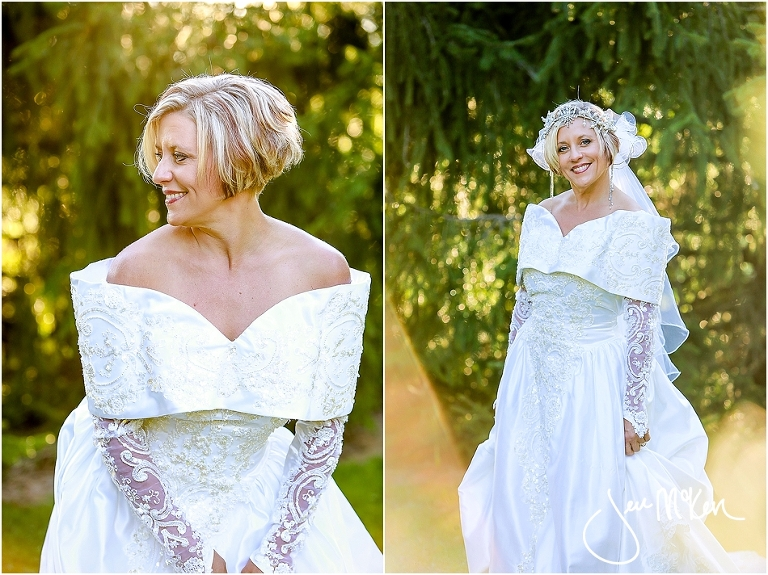 Photo shoot with s wedding gown jen mcken photography