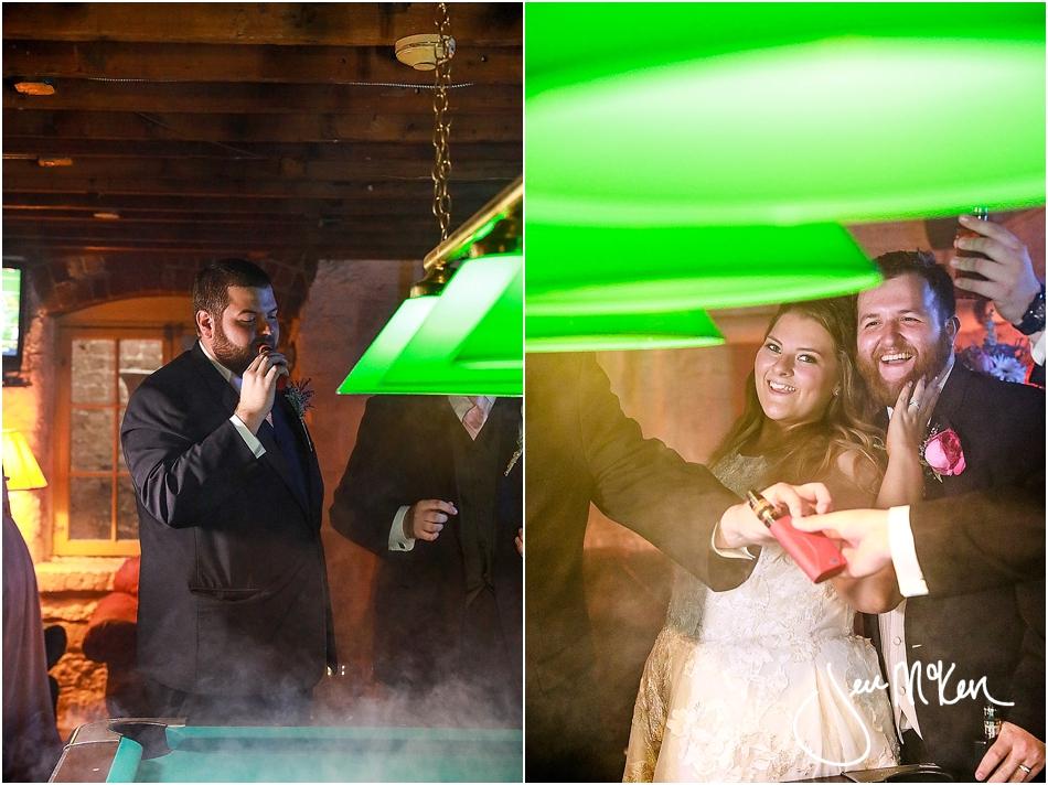 cigar bar wedding