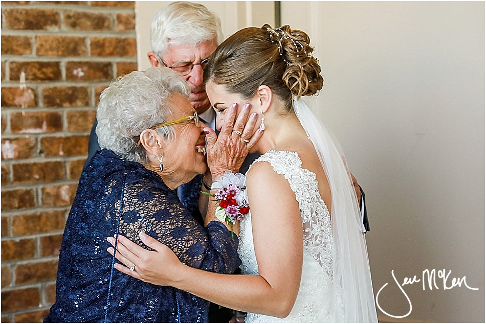 grandma and bride