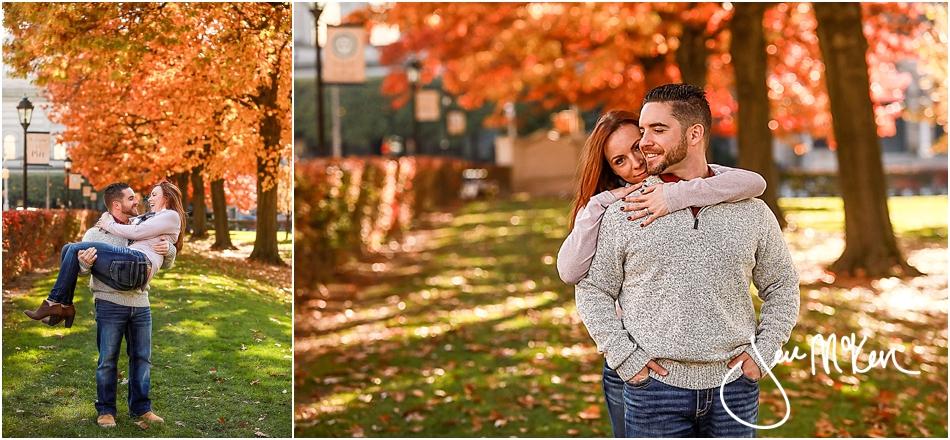 fall pitt campus photos