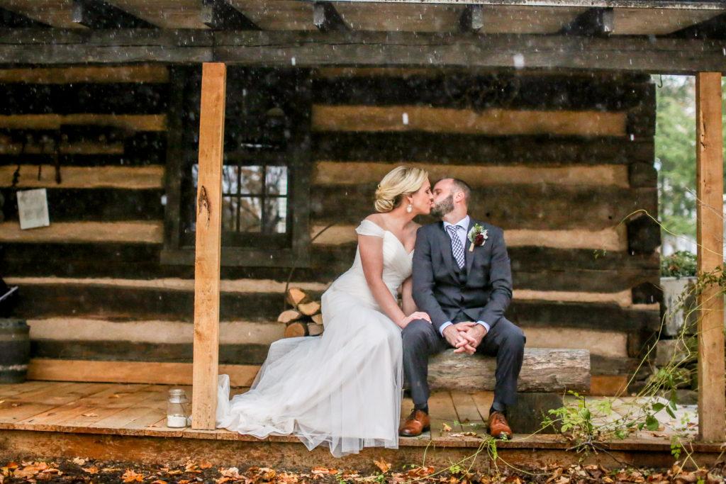 rain on your wedding day clear umbrella