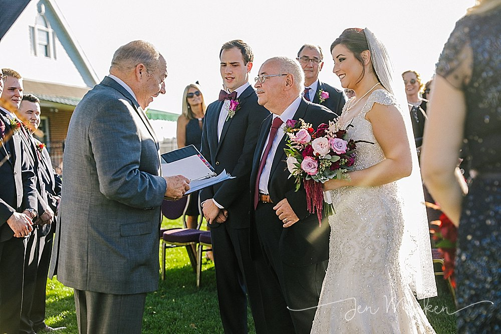 sunnehanna country club outdoor ceremony