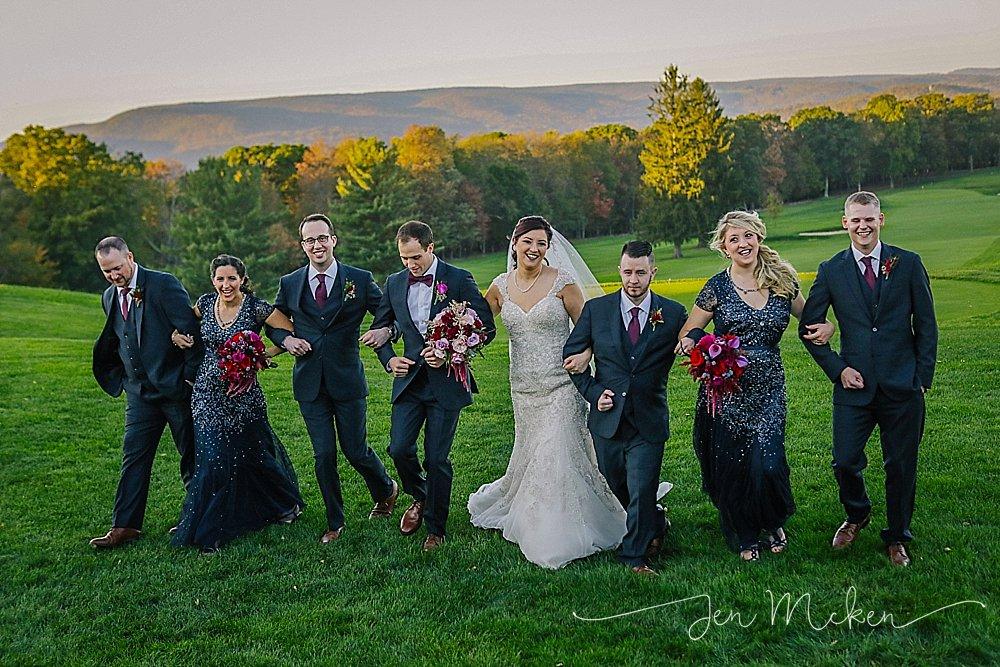johnstown pa wedding venue sunnehanna country club wedding reception