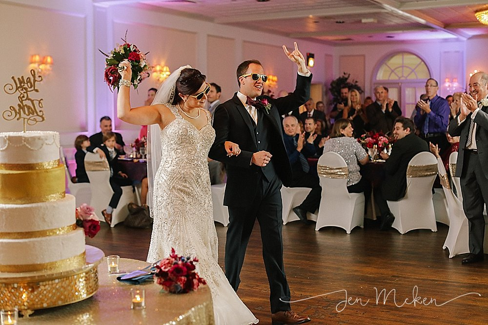 johnstown pa wedding venue sunnehanna country club wedding reception