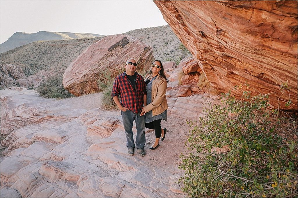 red rock family photos