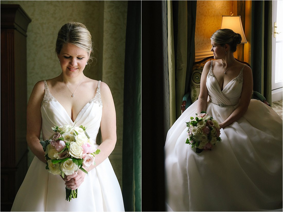 nemacolin wedding bridal portraits