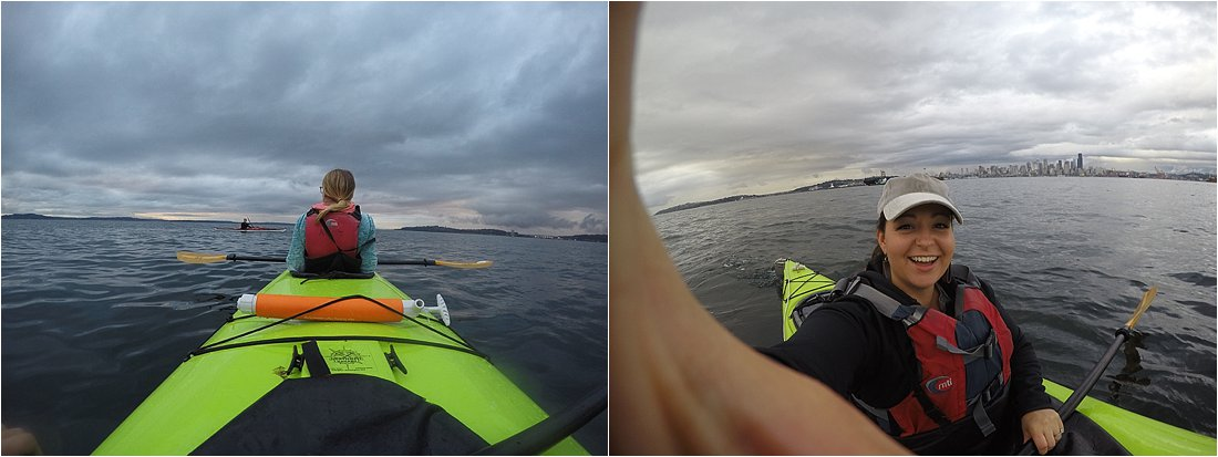 kayaking in seattle