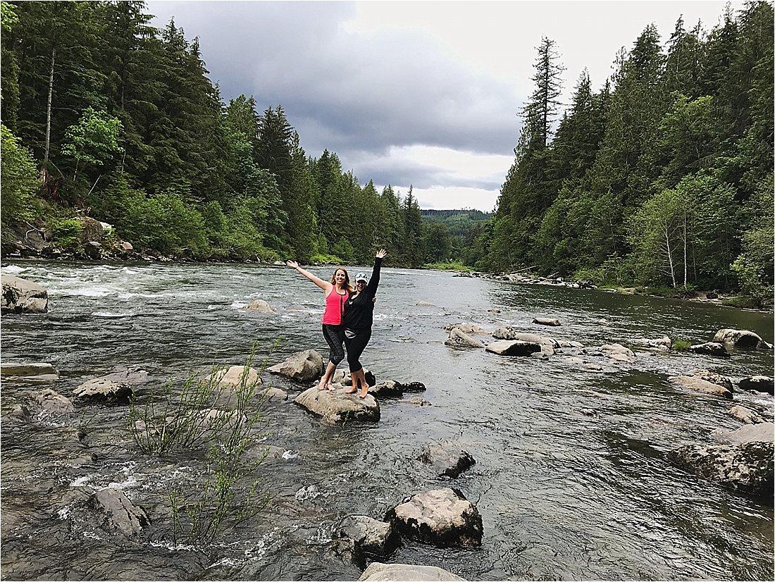 snoqualmie falls river