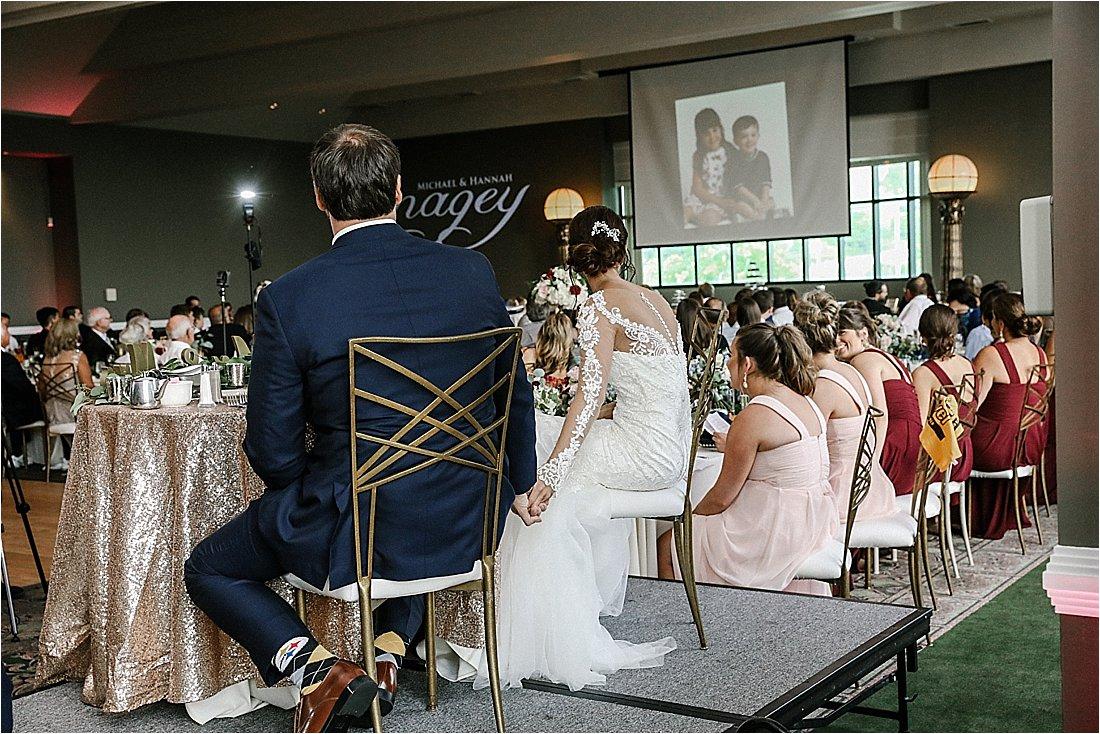 wedding receptions at chestnut ridge resort and spa in blairsville pennsylvania