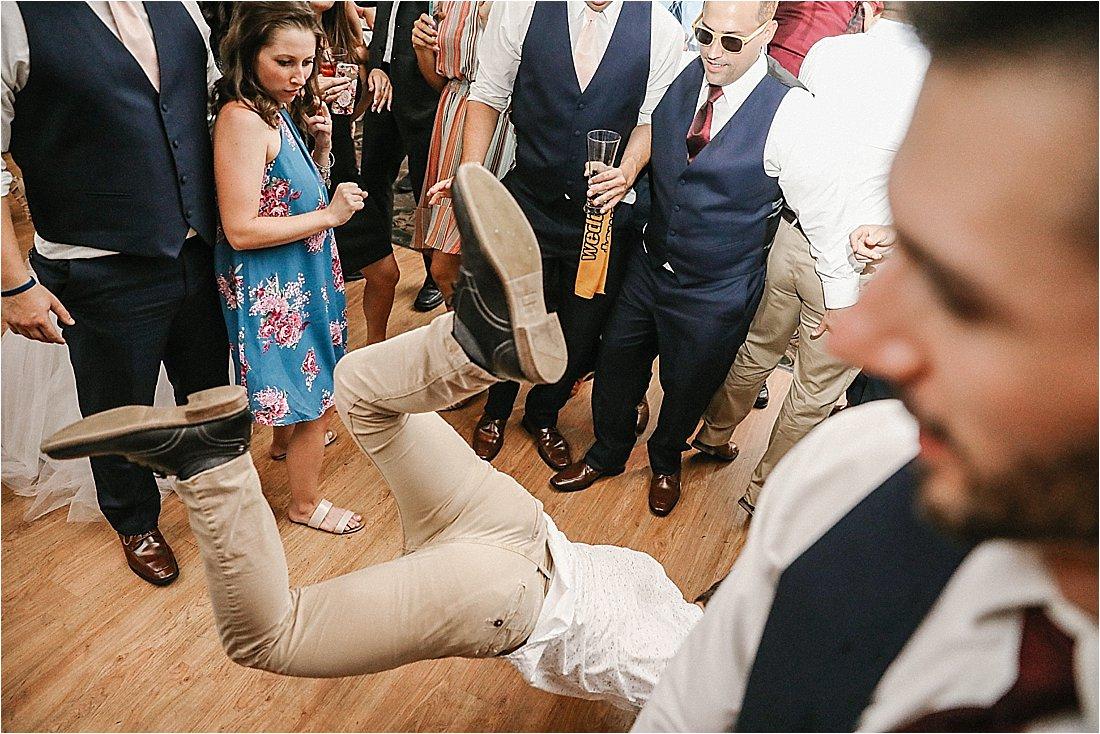 wedding reception at chestnut ridge blairsville pennslyvania
