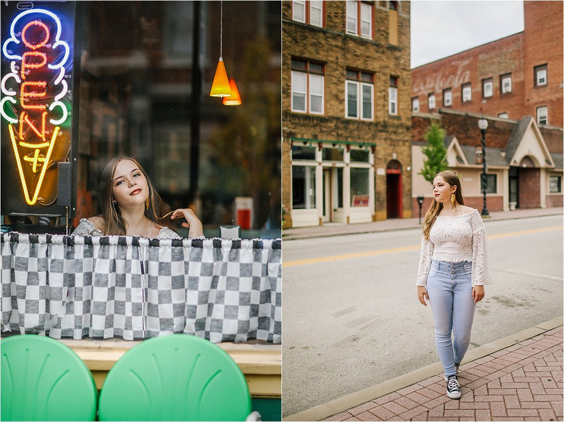 small town vibes senior sessions blairsville pennsylvania
